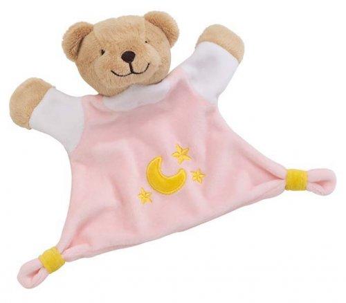 Κούκλα, πανάκι αγκαλιάς ροζ Cause 65090