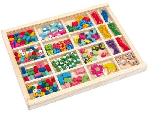 Φτιάξτε κοσμήματα με ξύλινες χάντρες Legler Κωδ. 2465