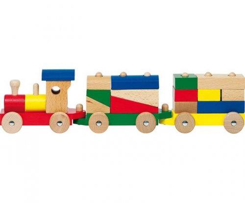 Τραίνο με τουβλάκια