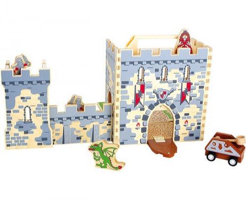 Κάστρο Ιπποτών σε βαλίτσα Small Foot 9542