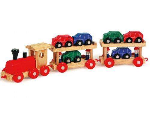 Τραίνο μεταφοράς αυτοκινήτων SmallFoot 7006