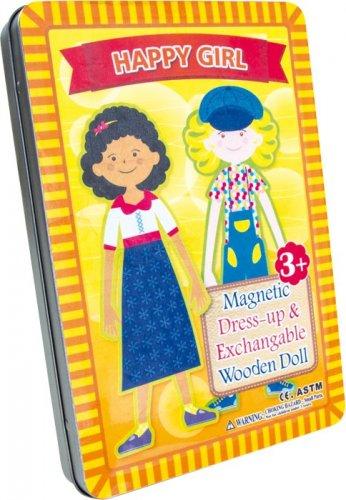 Ντύσε τα Κορίτσια Μαγνητικό Small foot Κωδ. 1485