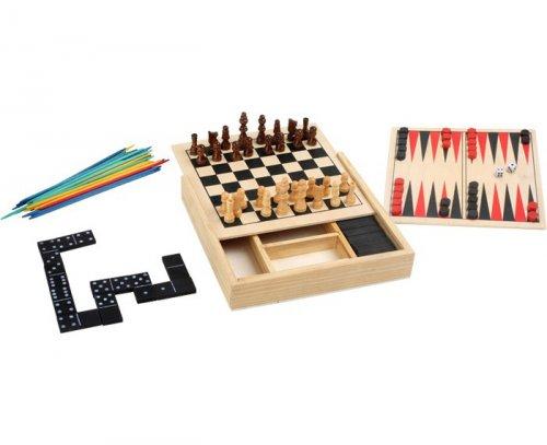 Κλασσικά παιχνίδια 5 σε 1 Small foot Κωδ. 3491