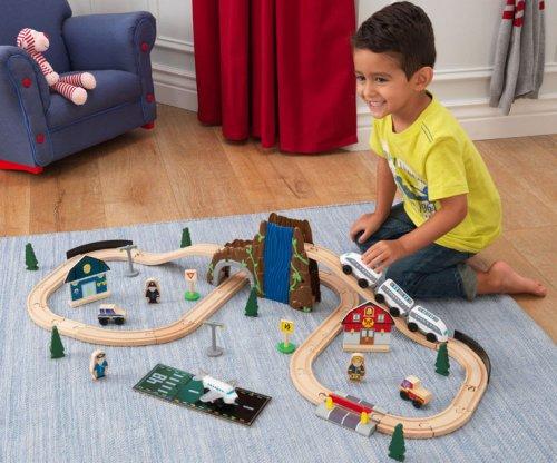 Σετ τραίνου Euro Express - Kidkraft ΚΩΔ: 17989