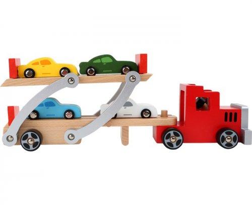 Νταλίκα μεταφοράς αυτοκινήτων Small foot Kωδ: 4222