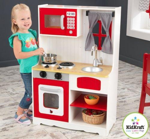 Κοκκινη Εξοχική Κουζίνα - Kidkraft ΚΩΔ: 53299