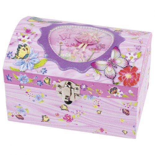 Μουσικό κουτί - μπιζουτιέρα Νεράιδα Goki Κωδ. 15519