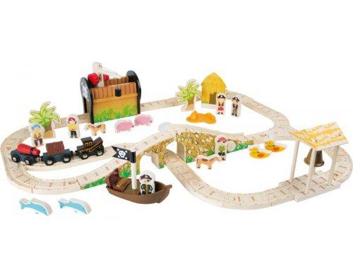 Σιδηρόδρομος στο Πειρατικό Νησί Small foot Kωδ: 3123