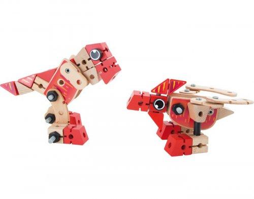 Σετ κατασκευής 2 σε 1 Δεινόσαυροι Small foot Κωδ. 7806