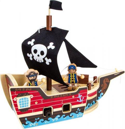 Σετ κατασκευής Πειρατικό Καράβι Small Foot 9538